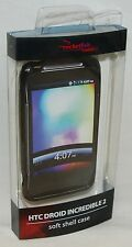 NEW RocketFish RF-CHVT2BPM BLACK Gel Cover Skin HTC Droid Incredible 2 Phone NEW
