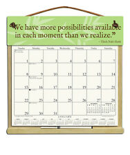 ZEN SAYING CALENDAR WITH THE REST OF 2018, 2019 & AN ORDER FORM FOR 2020.