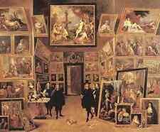 David Teniers the Younger ARCHDUKE LEOPOLDO Wilhelm nella sua galleria 1647 stampa in A4
