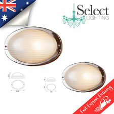 OVALE, Exterior wall bunker lights, 304 stainless steel, IP44, 2 sizes On Sale!