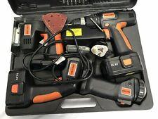 Challenge Power Tool Set 4-1 Drill, Sander, Jigsaw In Case 30/7 K