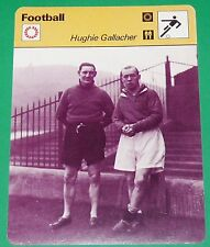 FOOTBALL FIRST DIVISION ENGLAND HUGHIE GALLAGHER 1930 JOHNSON CHELSEA BLUES