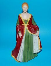 Franklin Mint ornament Figurine Royal ' Isabella of Spain ' LE 1st Quality
