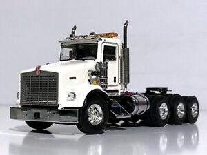 KENWORTH T800 8x4 WHITE-WSI TRUCK MODELS-1:50 scale