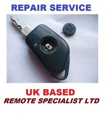 Peugeot 406 1 button Remote Key Fob Repair Service Including New Rubber