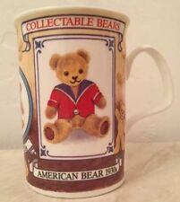 Roy Kirkham Collectable Bears Mug Fine Bone China 1999 American Swiss Dutch