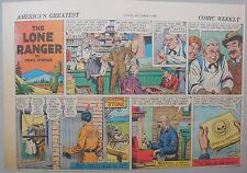 Lone Ranger Sunday Page by Fran Striker and Charles Flanders from 12/7/1941