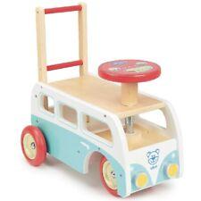Chariot de marche et porteur Combi rétro 2 en 1 en bois - Vilac 1011S