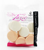 2 x Zazie 16 Cosmetic Round Make-Up Blenders Sponge Applicator Make Up Ladies