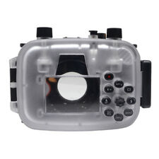 Mcoplus 40m/130ft Underwater Waterproof Diving Housing Case for Canon G5X