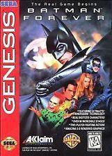Batman Forever (Sega Genesis, 1995) VINTAGE GAMES RARE!!!!!!!!!!!!!!