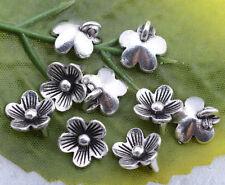 Wholesale 20pcs tibetan silver beautiful wintersweet charm pendant 6x10mm#A5448