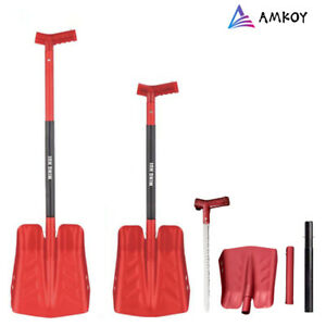 Large Size Outdoor Camping Shovel Survival Upscale Folding Spade Tool Adjustable