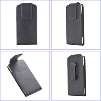 Leather Belt Clip Phone Case, 360º Rotary SWIVEL Belt Loop Holster Pouch Cover