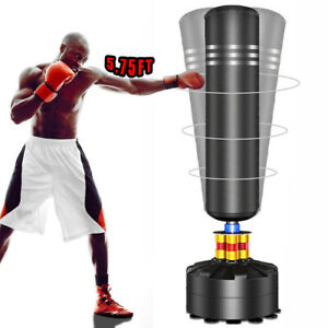 Heavy Duty Kick Boxing Punch Bag Free Standing Training Adult Sports Large Stand