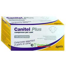 CANITEL PLUS 104 COMPRESSE – VERMIFUGO generico per CANE CANI