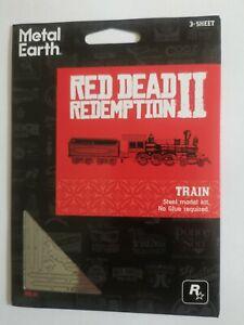 Red Dead Redemption 2 Metal Earth Train model kit