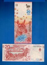 Argentina P-361 20 Pesos Year ND 2017 A-Series Uncirculated Banknote