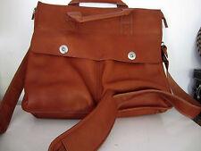 Cranford Ladies Chestnut Leather Large Messenger Shoulder bag New
