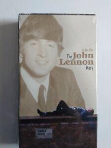In His Life The John Lennon Story VHS Studio Home Entertainment 2000 NBC ST 7844
