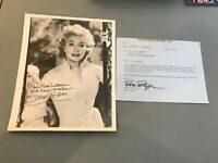 Vintage 1960's  Greer Garson Signed Autographed 8X10 Photo With JSA COA
