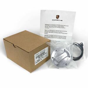 OEM Porsche Boxster Cayman Cayenne Macan Panamera Aluminium Gas Fuel Tank Cap