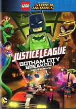 Lego Dc Comics Super Heroes Justice League Gotham City Breakout Dvd 2016 New