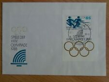 DDR - FDC MiNr. Block 94, Olympische Sommerspiele Seoul, M€ 12,00