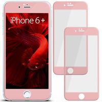2x 3D Film Blindé de Verre pour Apple IPHONE 6s Plus 6 Galbé plein Ecran