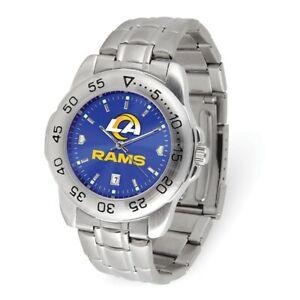 NFL Los Angeles Rams Mens Sport Steel Watch Style: XWM3531 $87.90