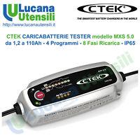 CTEK CARICABATTERIE modello MXS 5.0 - 110Ah - 4 Programmi - 8 Fasi AGM GEL Acido