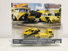 2020 Hot Wheels Team VOLKSWAGEN Classic Bug TRANSPORTER T1 Car Culture