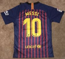 Barcelona Fc home Shirt 2018/2019 With Messi 10
