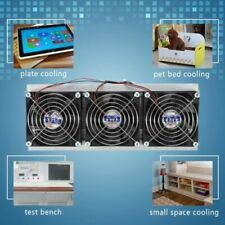 Thermoelectric Peltier Refrigeration Cooling System  Semiconductor Cooler 3 Chip