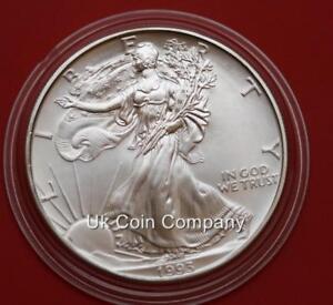 1993 American Silver Dollar 1 Oz Liberty Eagle $1 Coin
