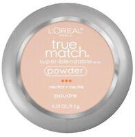 Loreal Paris True Match Super Blendable Powder Compact Makeup C2 Natural Ivory