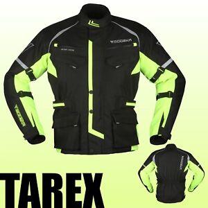 Modeka Motorradjacke TAREX neu 2021 gelb wasserdicht Thermofutter Motorrad Jacke