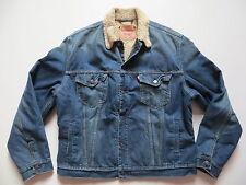 Levi's® Jacke Jeansjacke mit Fell Gr. XL, RARITÄT ! Winterjacke warm gefüttert !