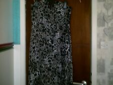H & M HIGH LOW LEAPORD PRINT DRESS SIZE 16, BNWT