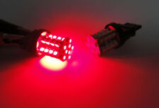 A Pair of RED 40 SMD LED 3157 3156 3457 For NISSAN Brake Light High Power Bulbs