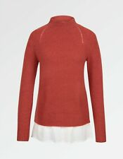 Neues AngebotFat Face-Damen-Saskia Pullover-rot-Größe 6-Bnwt