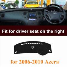 RHD Dashboard Cover Dashmat Pad Carpet For Hyundai Azera 2006-2010