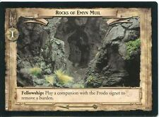 Lord Of The Rings CCG Card EoF 6.U115 Rocks Of Emyn Muil