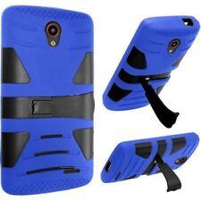 Fundas y carcasas color principal azul de plástico para teléfonos móviles y PDAs ZTE