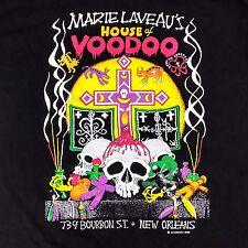 Marie Laveau's House of Voo Doo XL Extra Large NewOrleans T-Shirt Color 1989