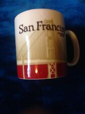 Starbucks San Francisco Mug Cup Collector Series Retro Coffee Tea