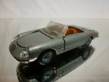 MEBETOYS A-18 ALFA ROMEO DUETTO SPIDER - GREY METALLIC - GOOD CONDITION