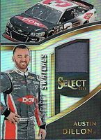 2017 Select Racing Select Swatches Relic Singles (Pick Your Cards)