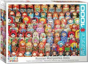 Eurographics Puzzle 1000 Piece jigsaw - Russian Matryoshka Dolls  EG60005420
