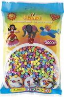 HAMA Perlen pastell gemischt 3.000 Stück, 1 Beutel